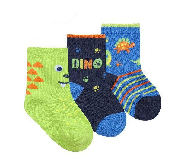 Бебешки чорапи Дино - 3 бр.