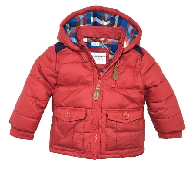 Детско зимно яке Red
