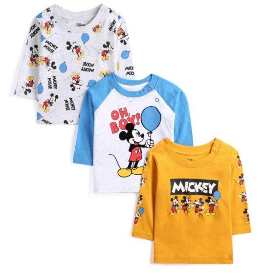 Детска блузка Мики Маус - 3 бр.