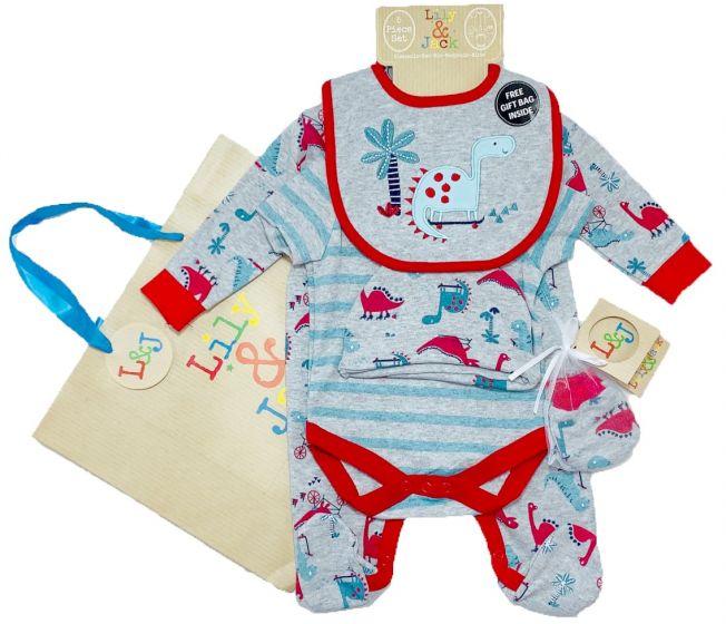 Бебешки комплект Roar с подаръчна торбичка