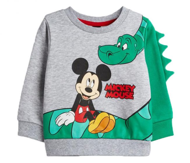 Детски пуловер Мики и Дино