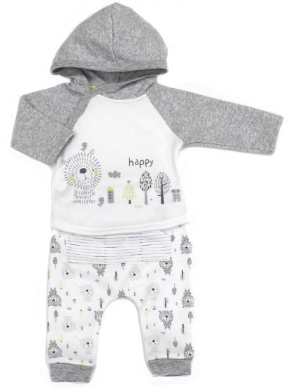Бебешки ватиран комплект Happy