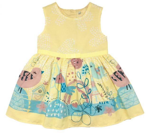 Детска официална рокля Лято