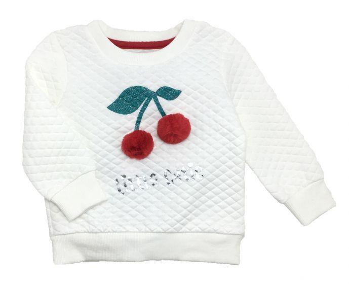 Детски пуловер Черешка