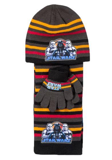 Шапка с шал и ръкавички Star Wars