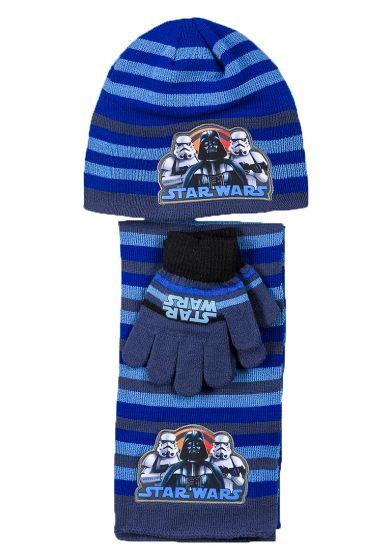 Шапка с шал и ръкавици Star Wars
