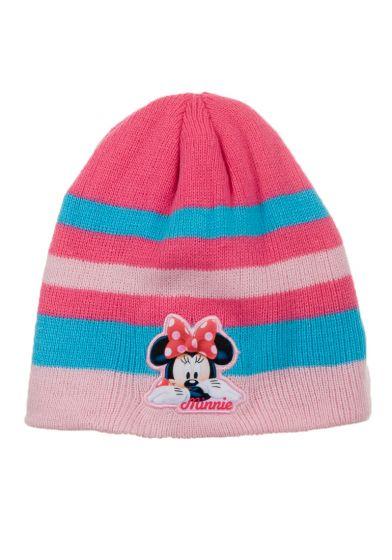 Детска шапка Мини Маус розово