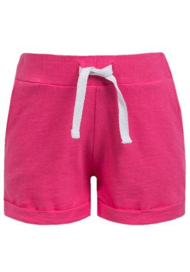 Детски къси панталонки Hot pink