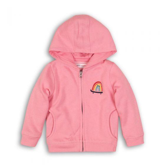 Детски ватиран суитчер Rainbow