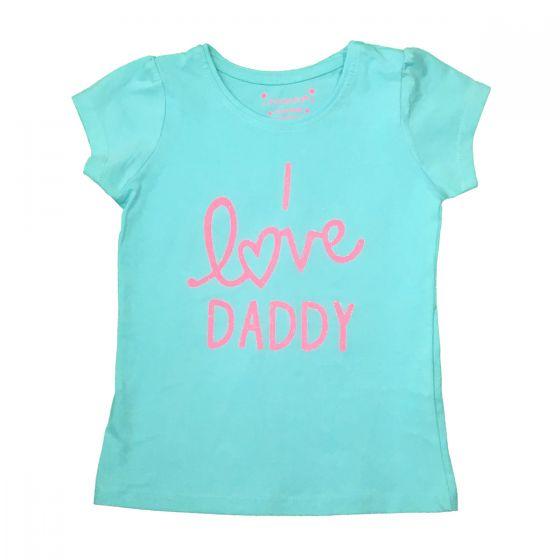 Детска блузка I love daddy