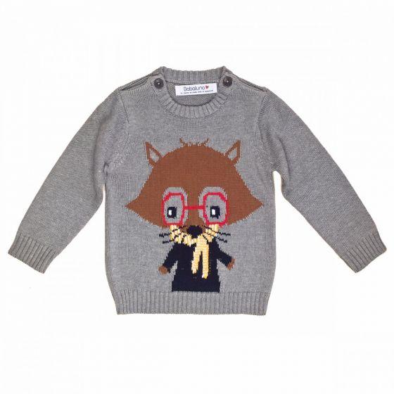Бебешки пуловер Raccoon