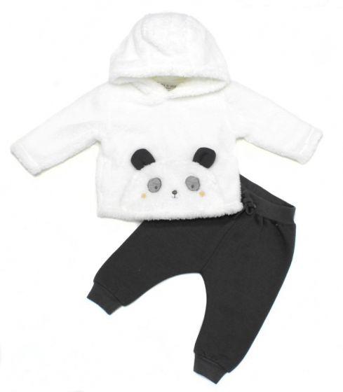 Бебешки зимен комплект Panda