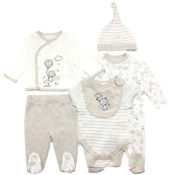 Бебешки комплект за изписване - 6 части