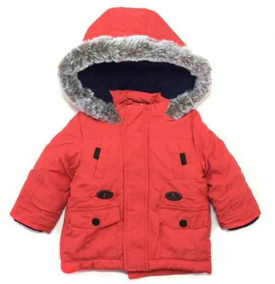 Детско зимно яке в червено