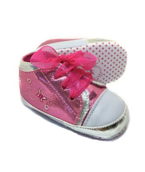 Розови бебешки кецове