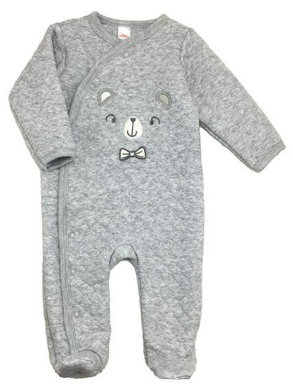 Бебешки ватиран гащеризон Bear