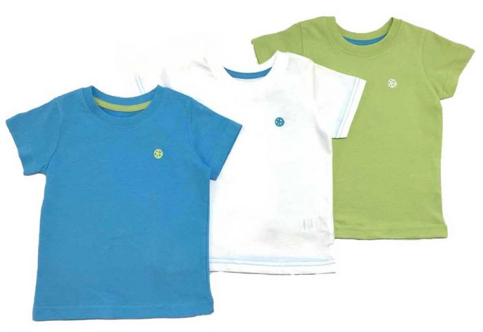 Детски блузи къс ръкав- 3 бр.