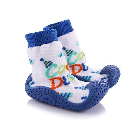 Детски пантофки с чорап Cool dude
