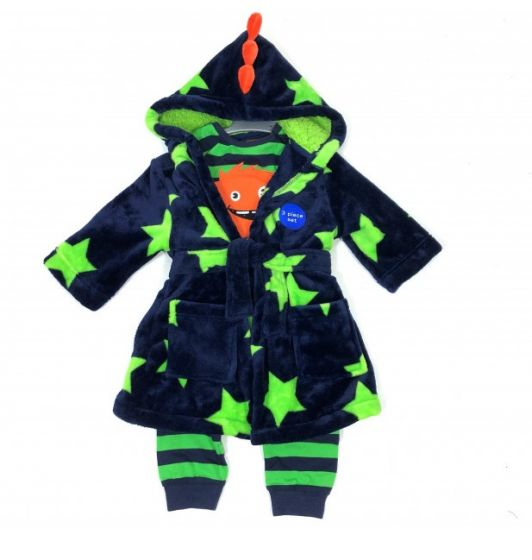 Детска пижама с халат