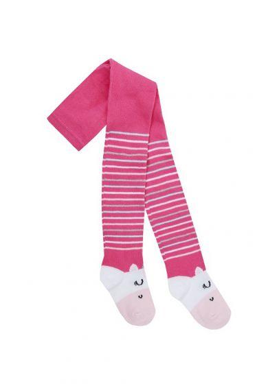 Детски чорапогащник Unicorn Pink
