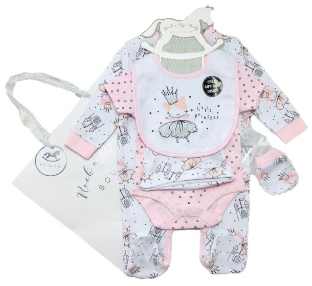 Бебешки комплект Little Princess с подаръчна торбичка