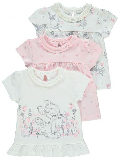 Бебешка блузка Бамби - 3 бр.