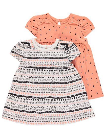 Детска лятна рокля Heart- 2 бр.