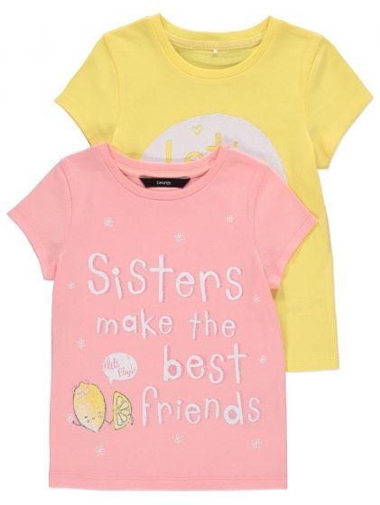Детска блузка Sisters - 2 бр.