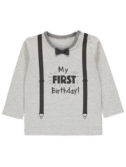 Детска блузка  My first birthday