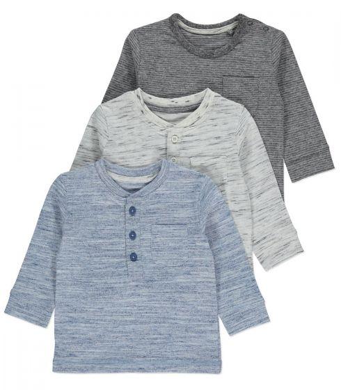 Детска блузка Blue&Gray - 3 бр.