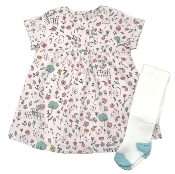 Бебешка рокличка с чорапогащник