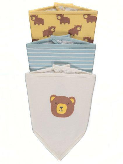Бебешки лигавник Bear - 3 бр.