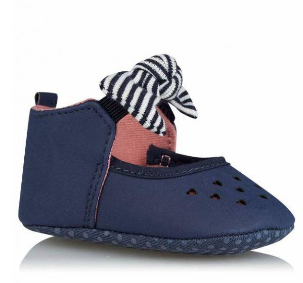 Бебешки обувки с панделка